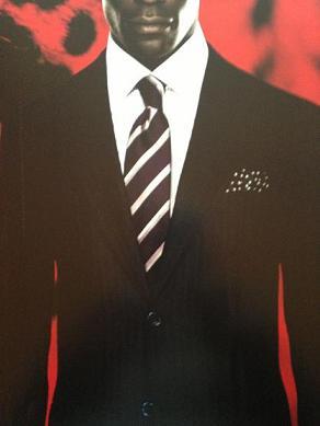 dark suited man