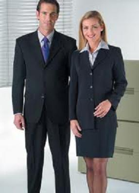 male and female - navy YES!