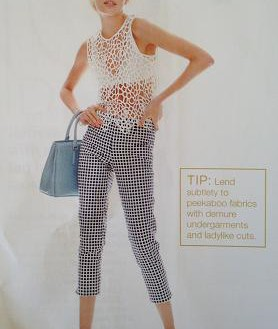 Gingham and Lace Trending for Spring-Summer 2013