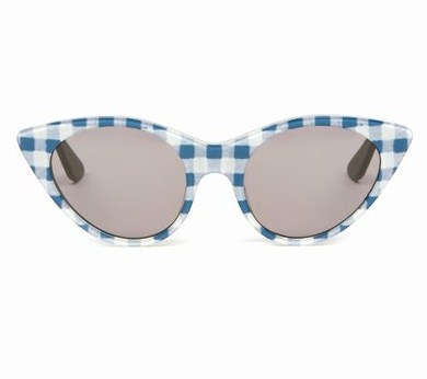Gingham sunglasses