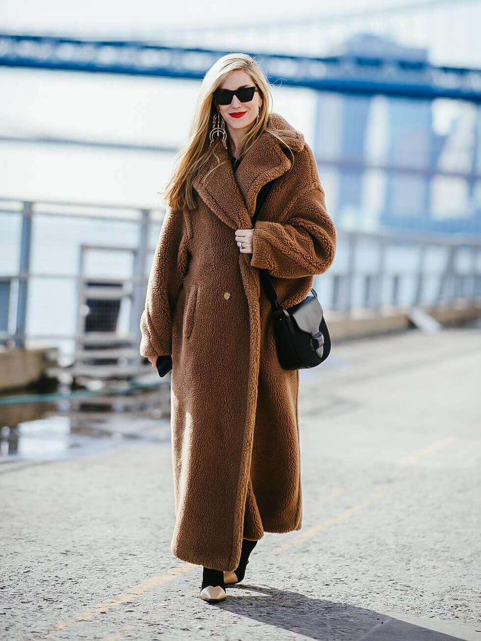 BAE COLOUR - teddy bear coat