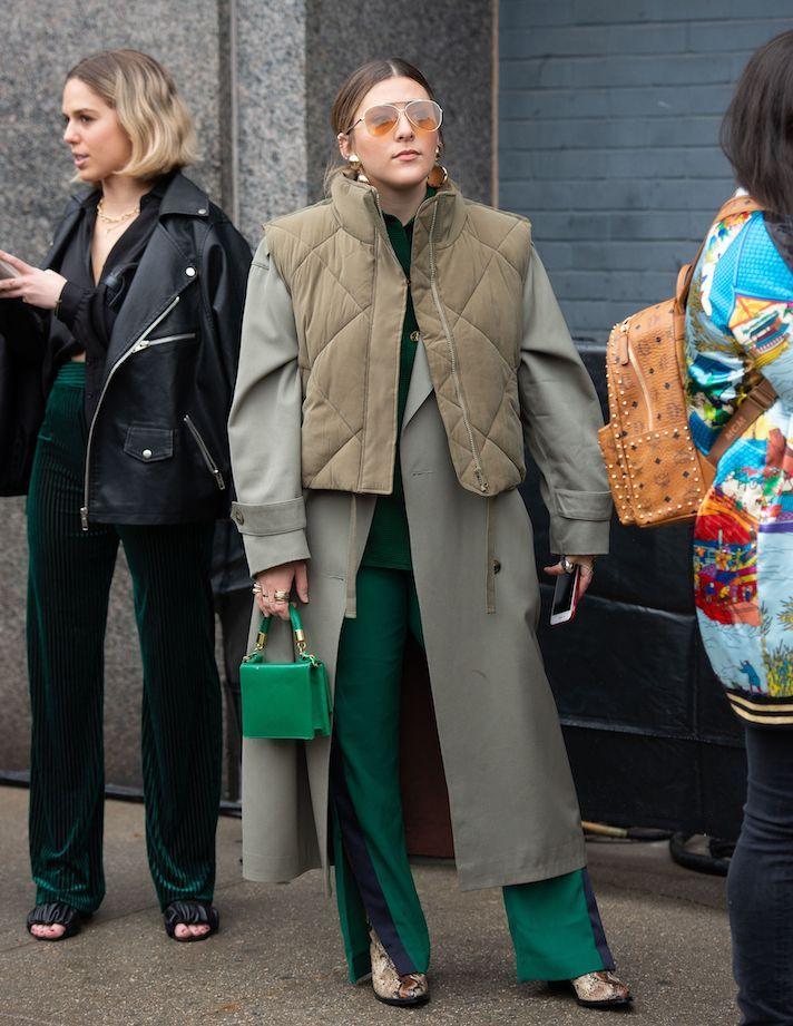 Street Style, Fall Winter 2020, New York Fashion Week, USA - 06 Feb 2020